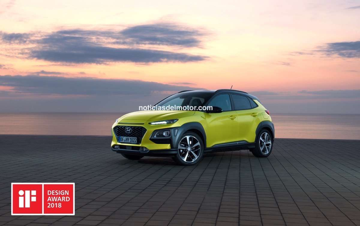 Hyundai Kona iF Design Award
