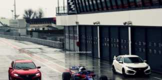 Civic Type R y Toro Rosso